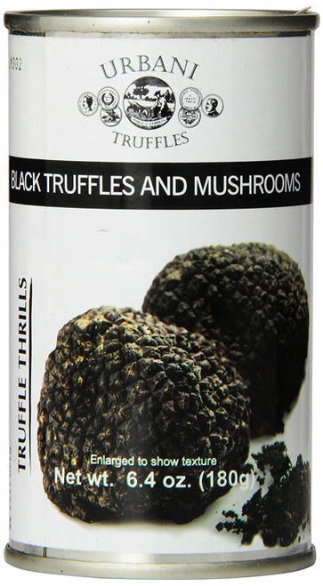 "Urbani Truffles ""Truffle Thrills"" Black Truffles and Mushrooms Sauce - 6.4oz"