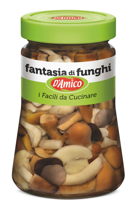 Fratelli D'Amico Mixed Mushrooms in oil - 6.3 oz