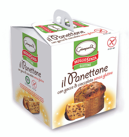 Giampaoli Gluten Free Panettone with Chocolate Chips