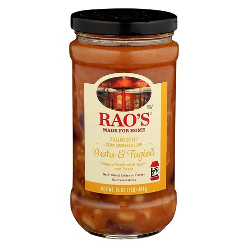 Rao's, Soup Italian Style Pasta And Fagioli, 16 Ounce