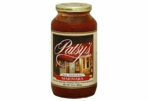 Patsy's Marinara Sauce 24 Ounces (Case of 6)