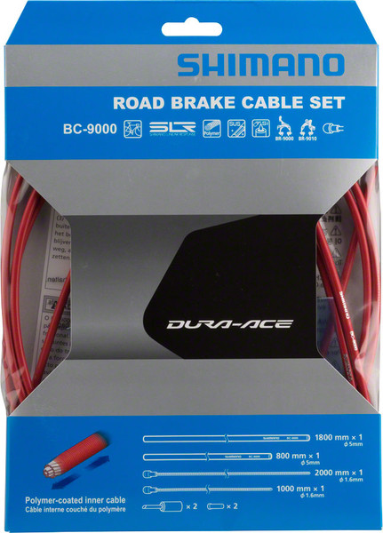 Shimano Dura-Ace BC-9000 Polymer Coated Brake Cable Set- SP41