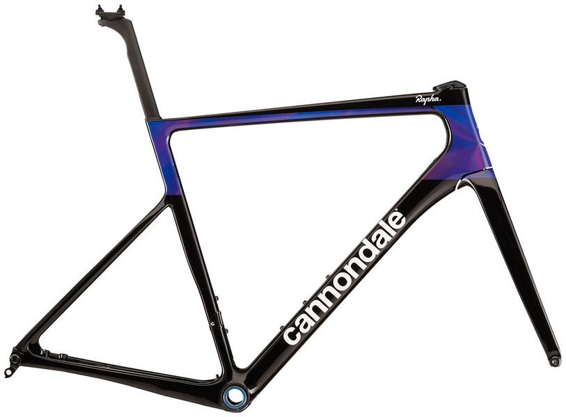 2020 SuperSix Hi-Mod Disc Frame Set - Rapha Team color