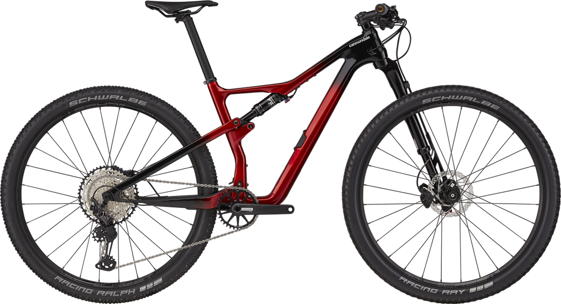 2021 Cannondale Scalpel Carbon 3 - Candy Red