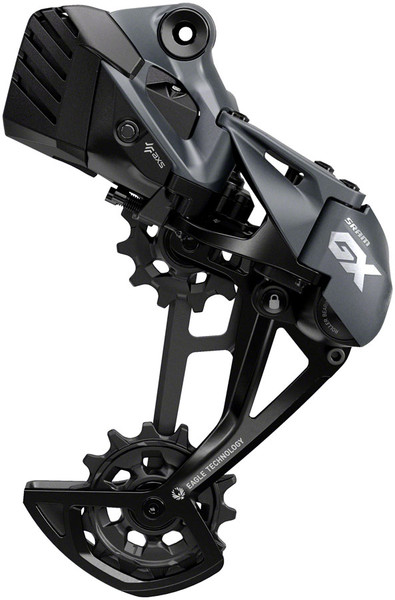 SRAM GX Eagle AXS Rear Derailleur - 12 Speed, Long Cage, 52t Max, Lunar