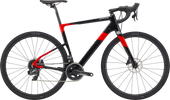 Cannondale Topstone Carbon in black and red