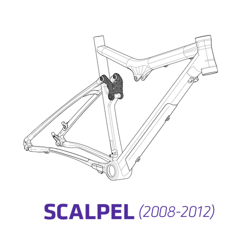 Parts Guide: Scalpel 26 Carbon