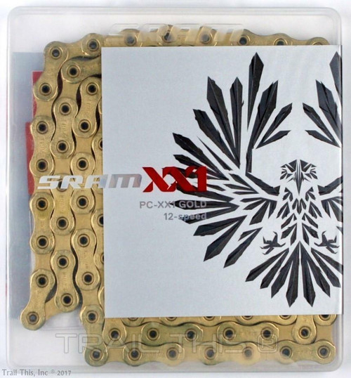 SRAM XX1 Eagle 12 Speed Chain - Gold