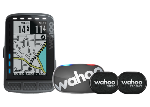 Wahoo Fitness ELEMNT Roam GPS Bike Computer Bundle