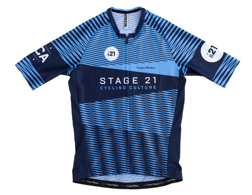 STAGE 21 BLUE MOIRE JERSEY