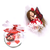Medium red valentines fairy with heart dress