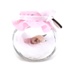Small Pink Sparkle Fairy Jar *choice to add tooth jar