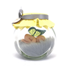 Yellow and grey baby Fairy Jar