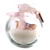 Small Fairy Jar Laying down Princess pink