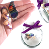 ELLA  Fairy Charm Jar Choice of hair colours & collectors bead