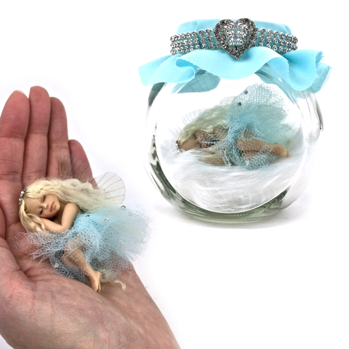 Crystal Fairy Jar Medium