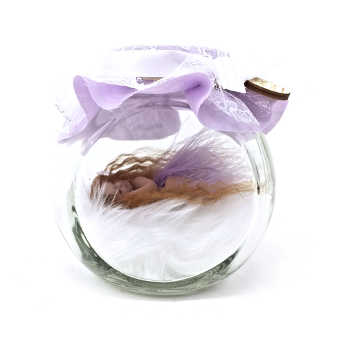 Pretty in Lilac Fairy Jar Medium