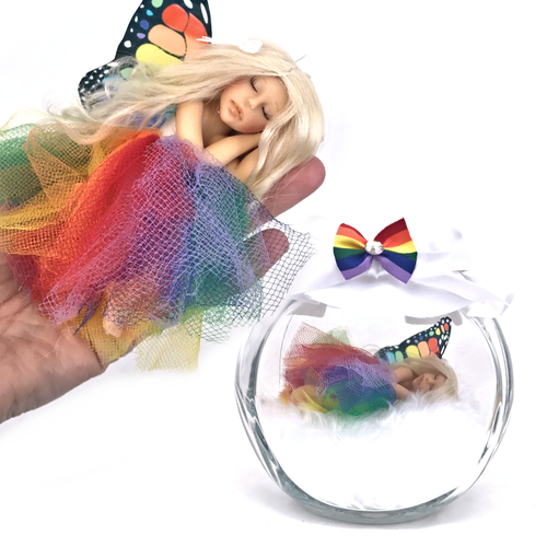 Rainbow Large Fairy optional Jar Tutu solid colours