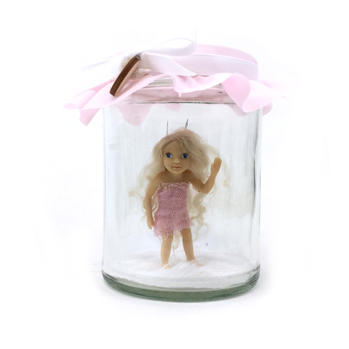 Simply Magic Pink willow Fairy Jar
