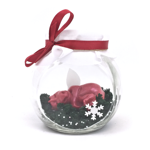 Christmas limited Edition Red Baby Dragon Jar