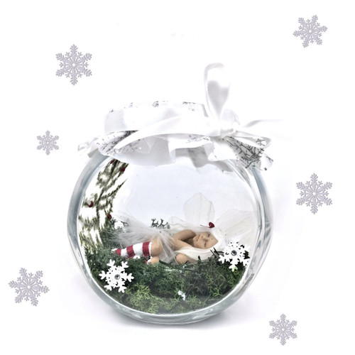 Limited Edition Winter Fairy optional Jar Large  *only available in winter