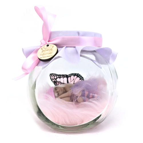 Medium Pink and lilac with hat and tutu