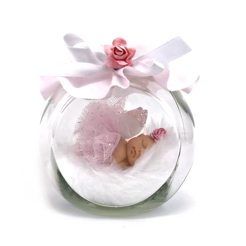 Baby Princess Tutu fairy Jar Pink
