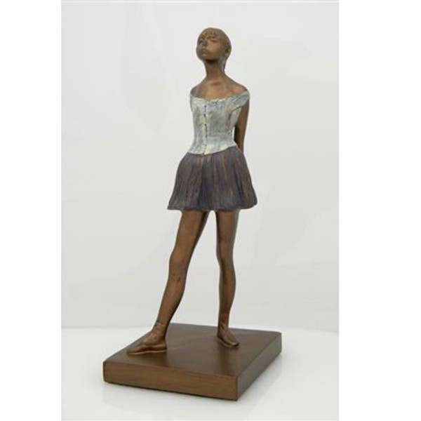 SCULPTURE: DEGAS' LITTLE DANCER, AGED FOURTEEN 13 IN.