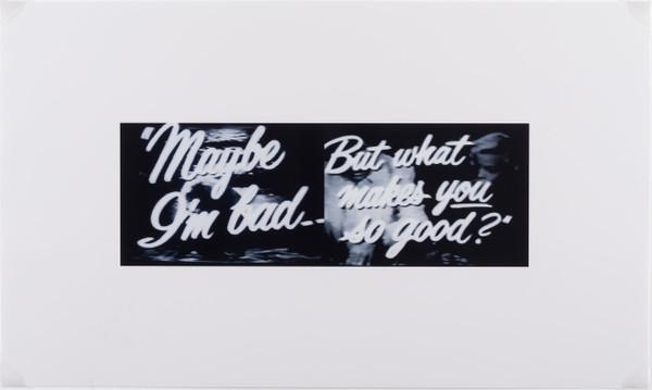 John Waters' Maybe Print
