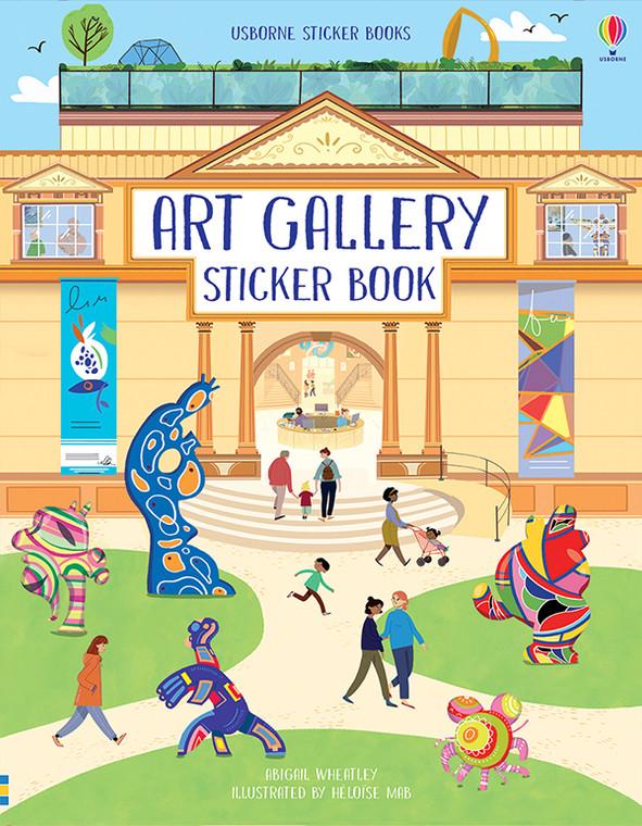 Art Gallery Sticker Book