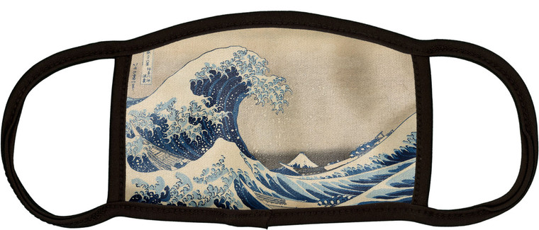 Hokusai Face Mask- Adult