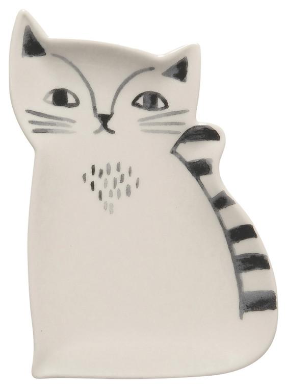 Ceramic Cat Trinket Tray