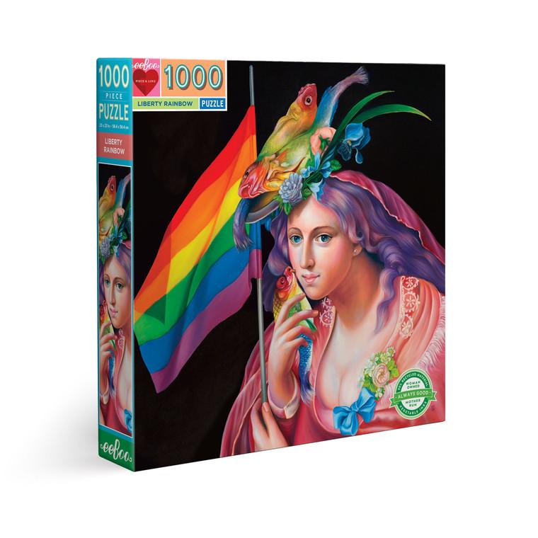 Liberty Rainbow 1000 Piece Square Puzzle