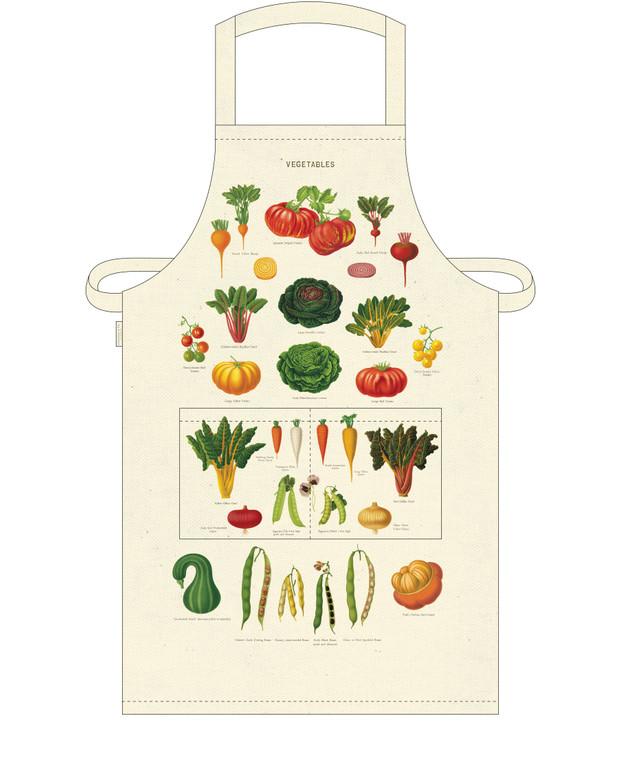 Vintage Vegetables Apron