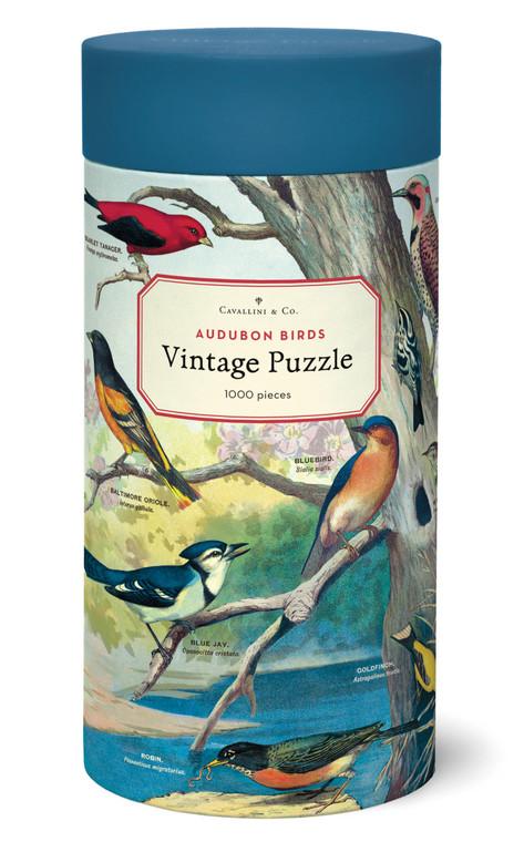 1000 Piece Audubon Birds Puzzle
