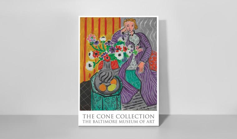 Poster: Henri Matisse's Purple Robe & Anemones