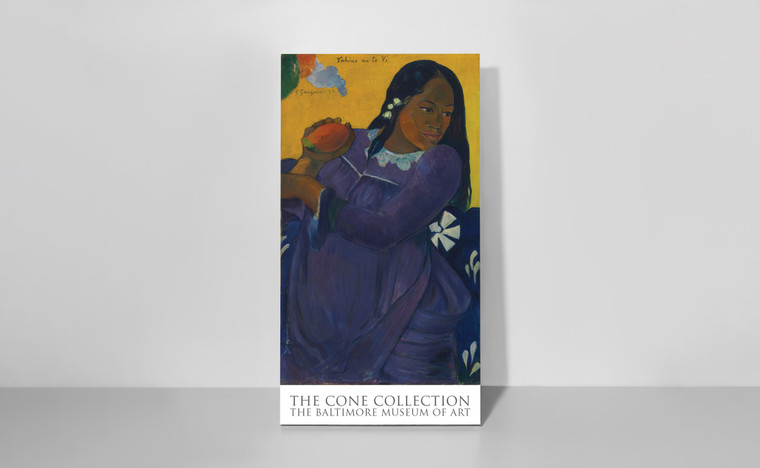 Poster: Paul Gauguin's Vahine no te Vi (Woman with Mango)