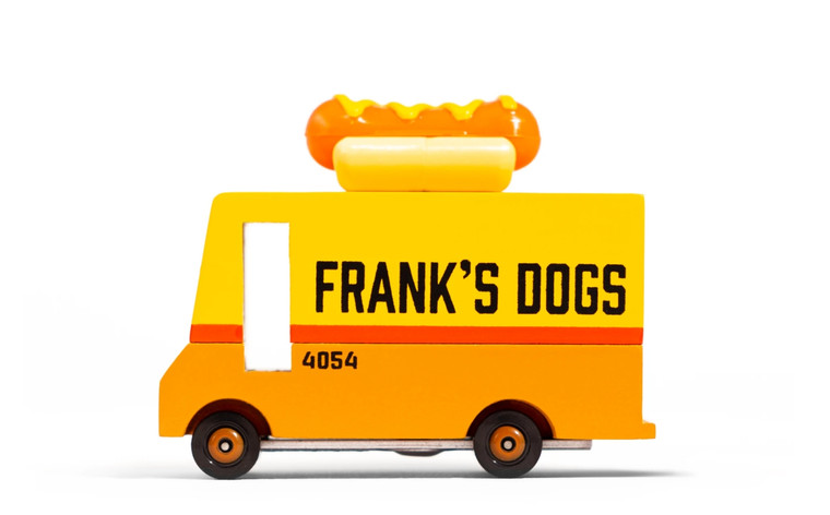 Toy Hot Dog Truck