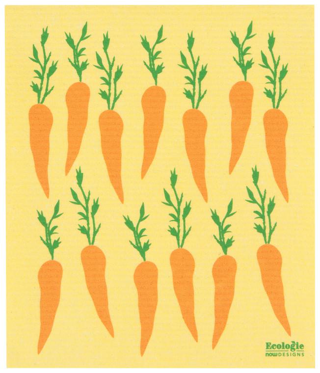 Swedish Sponge Towel, Carrots