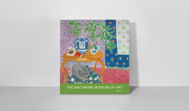 Poster: Henri Matisse's Interior with Dog