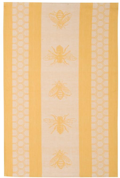 Honeybee Jacquard Dishtowel