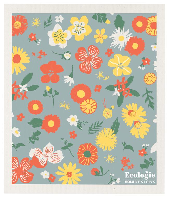 Swedish Dishcloth, Flowers of Month