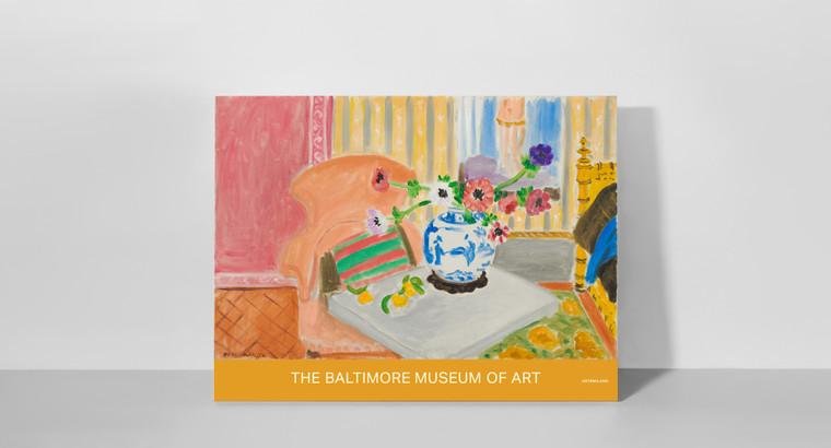 Poster: Henri Matisse's Anemones & Chinese Vase
