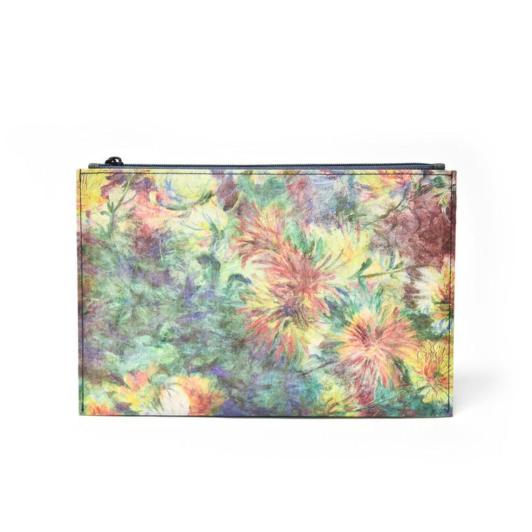 Hanji Pouch Chrysanthemums (Renoir)
