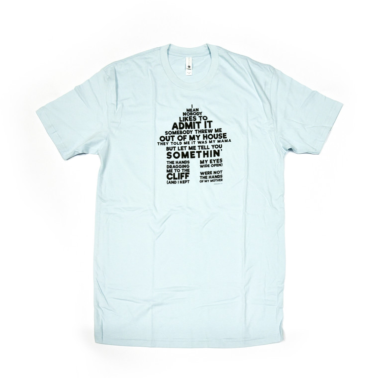 Mark Bradford Out of My House T-Shirt, Blue