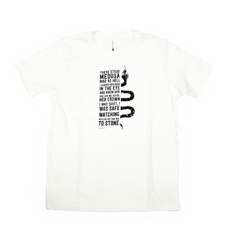 Mark Bradford Medusa T-Shirt, White