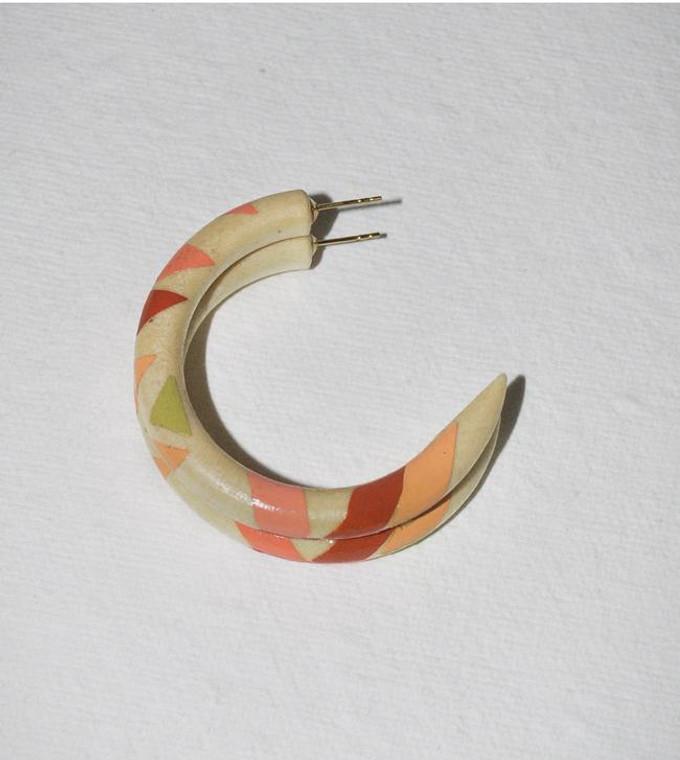Dusk & Dawn Small Hoop Earrings