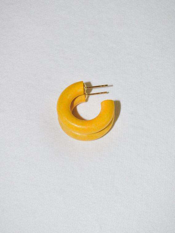 Vegas Gold Mini Hoop Earrings