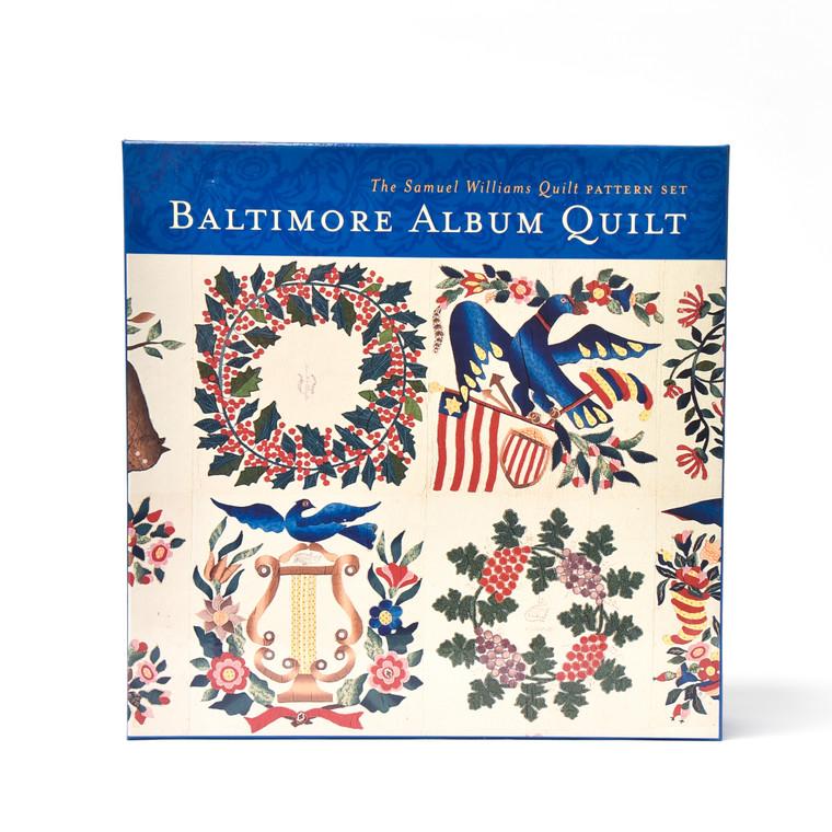The Samuel Williams Quilt Pattern Set: Baltimore Album Quilt