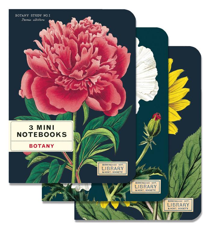 Botany Set of 3 Mini Notebooks